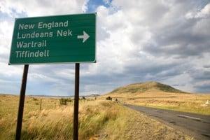 la route maloti en afrique du sud afrikaans