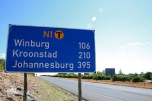 direction johannesburg